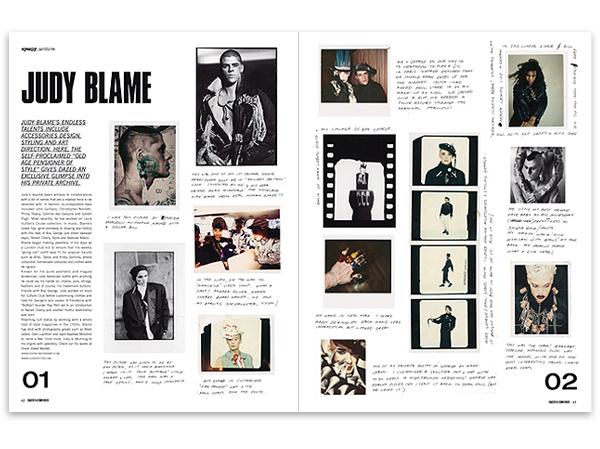 Fashion Magazine Editorial Layout